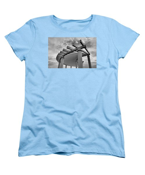Women's T-Shirt (Standard Cut) featuring the photograph Pergola by Brian Hughes
