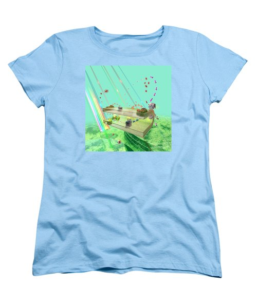 Women's T-Shirt (Standard Cut) featuring the digital art Photosynthesis by Russell Kightley