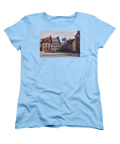 Place Royale Women's T-Shirt (Standard Cut) by Eunice Gibb