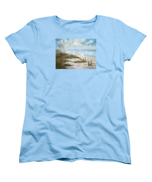 Playalinda Women's T-Shirt (Standard Cut) by AnnaJo Vahle