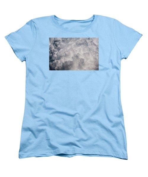 Powder Puff Women's T-Shirt (Standard Cut) by Colleen Coccia