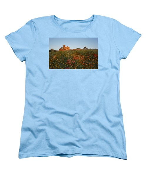 Women's T-Shirt (Standard Cut) featuring the photograph Presidio La Bahia 3 by Susan Rovira