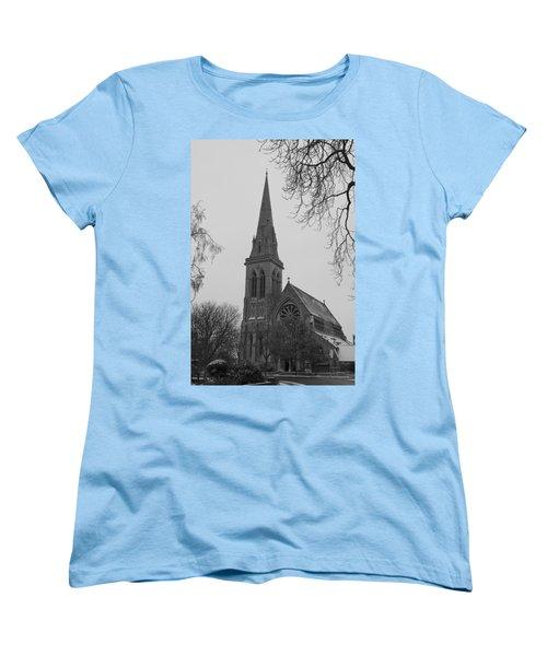 Women's T-Shirt (Standard Cut) featuring the photograph Richmond Village Church by Maj Seda