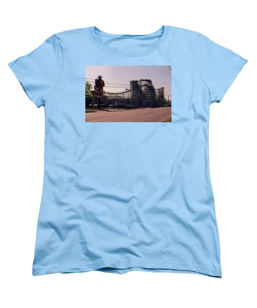 Women's T-Shirt (Standard Cut) featuring the photograph Ride It Cowboy by Stacy C Bottoms