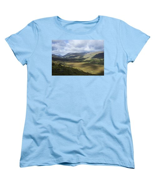 Women's T-Shirt (Standard Cut) featuring the photograph Ring Of Dingle by Hugh Smith