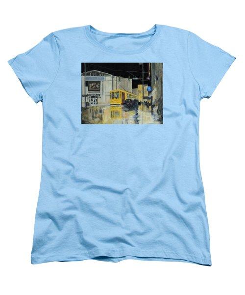 Rivermarket Streetcar 411 Women's T-Shirt (Standard Cut) by Angelo Thomas