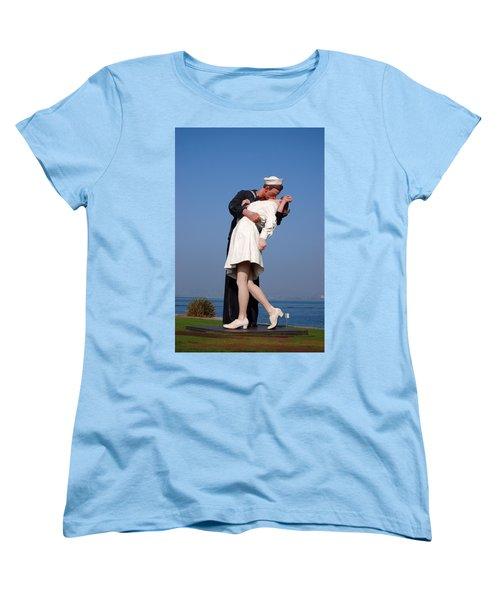 Sailor's Kiss Women's T-Shirt (Standard Cut) by Holly Blunkall