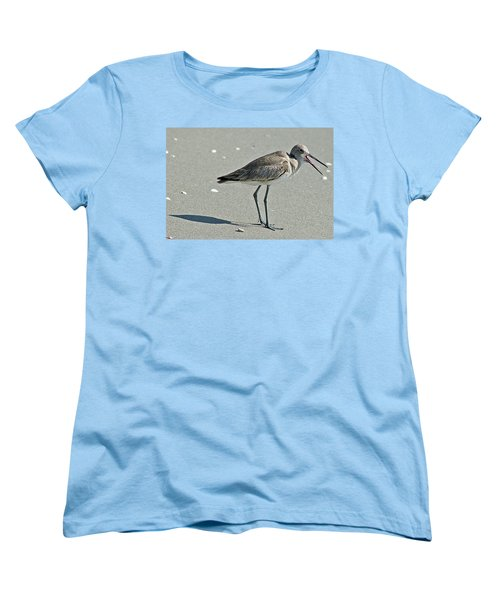 Sandpiper 4 Women's T-Shirt (Standard Cut) by Joe Faherty
