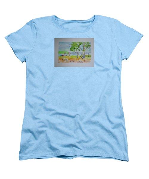 Sandpoint Bathers Women's T-Shirt (Standard Cut)