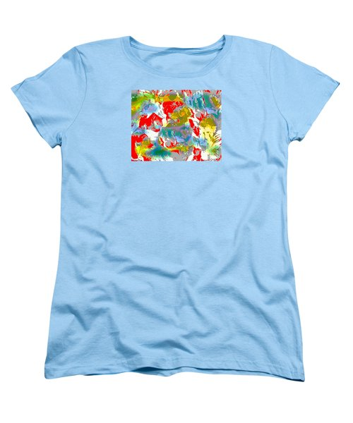 Women's T-Shirt (Standard Cut) featuring the digital art Secrets by Beth Saffer