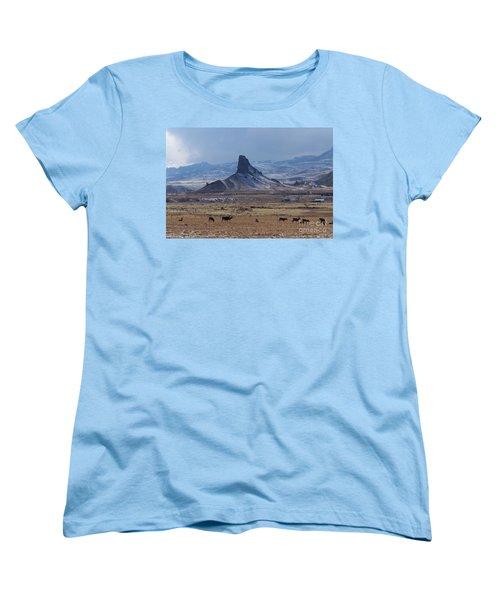 Sentinels Women's T-Shirt (Standard Cut) by Dorrene BrownButterfield