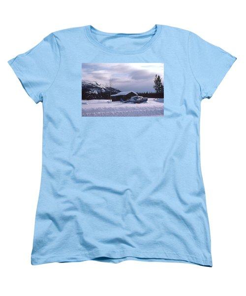Anyone Got A Shovel? Women's T-Shirt (Standard Cut) by Mark Alan Perry
