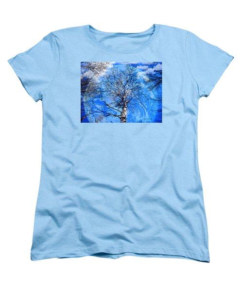 Simple Life Women's T-Shirt (Standard Cut) by Robert Orinski