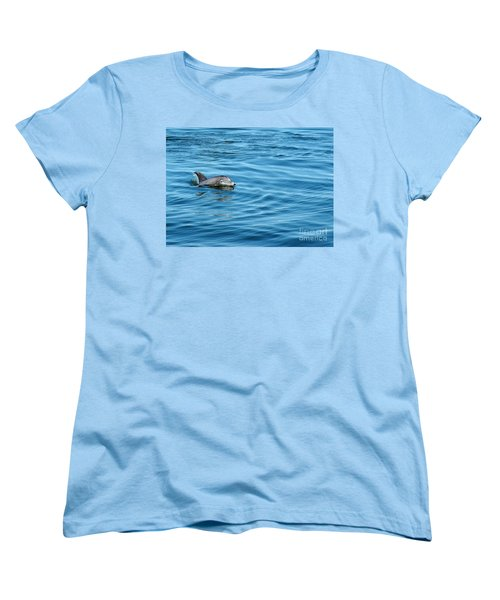 Women's T-Shirt (Standard Cut) featuring the photograph Smile by Sami Martin