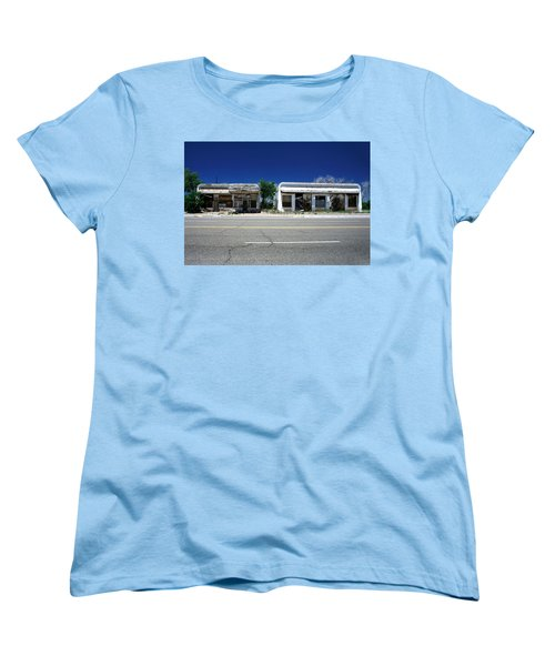 Women's T-Shirt (Standard Cut) featuring the photograph Somewhere On Hwy 285 Number Two by Lon Casler Bixby