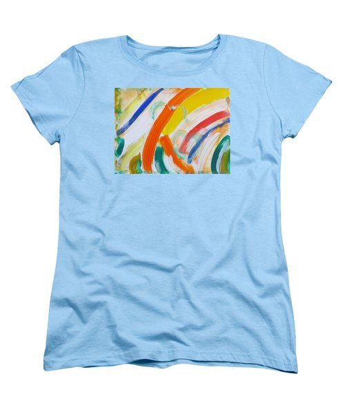 Women's T-Shirt (Standard Cut) featuring the painting Souls by Sonali Gangane