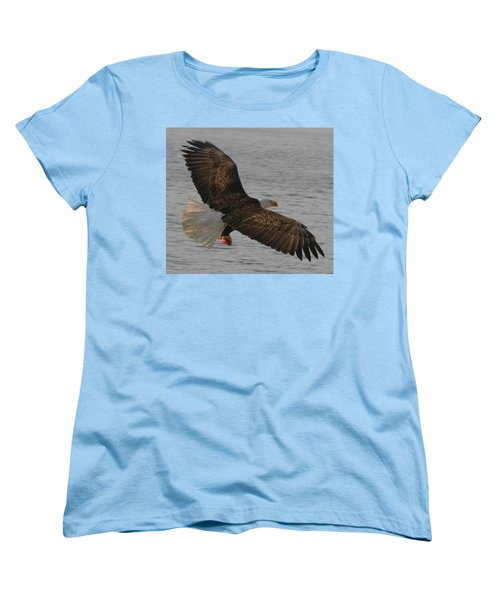 Women's T-Shirt (Standard Cut) featuring the photograph Spread Eagle by Kym Backland