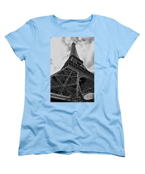 Women's T-Shirt (Standard Cut) featuring the photograph Still Standing by Eric Tressler