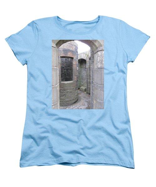 Stone Archwork Women's T-Shirt (Standard Cut) by Ian Kowalski