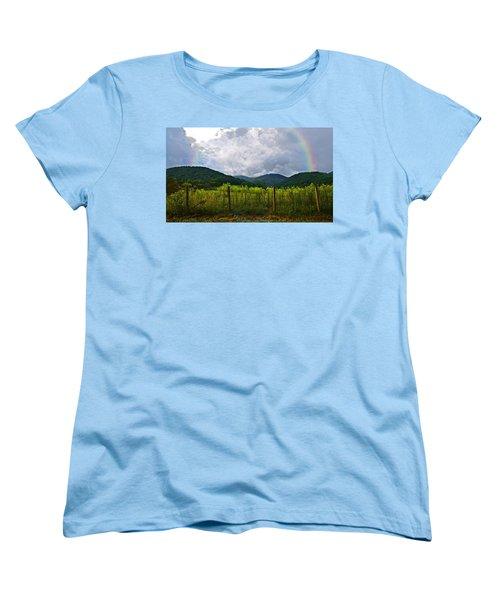 Storm Breaking Women's T-Shirt (Standard Cut) by Susan Leggett