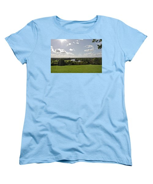 Women's T-Shirt (Standard Cut) featuring the photograph Sun Glare by Maj Seda