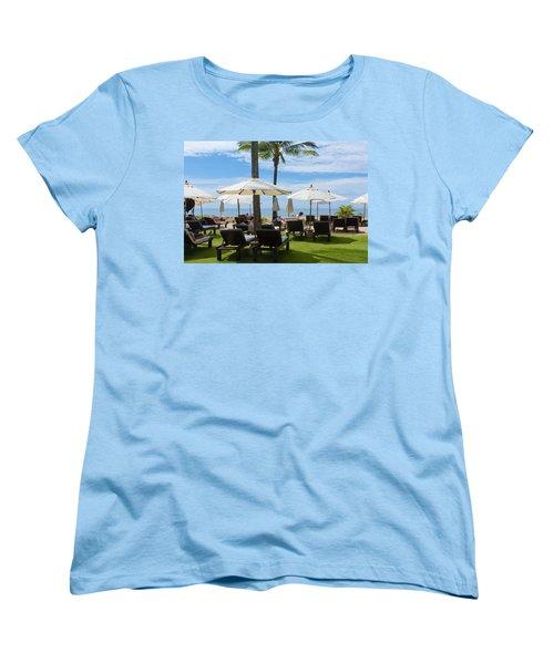 Sunbath Women's T-Shirt (Standard Cut) by Atiketta Sangasaeng
