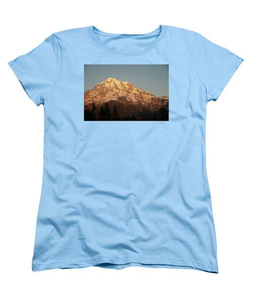 Sunset On The Mountain Women's T-Shirt (Standard Cut)