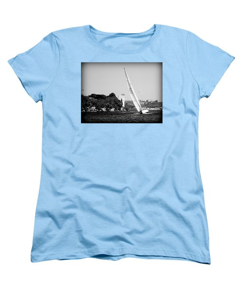 Women's T-Shirt (Standard Cut) featuring the photograph Tall Ship Race 1 by Pedro Cardona