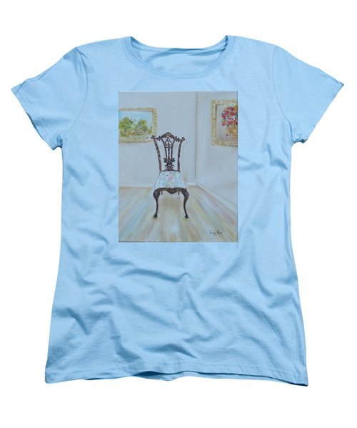 The Chair Women's T-Shirt (Standard Cut) by Judith Rhue