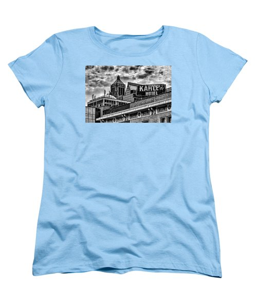 Women's T-Shirt (Standard Cut) featuring the photograph The Gathering Storm by Tom Gort