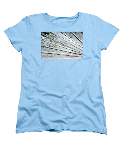 Women's T-Shirt (Standard Cut) featuring the photograph The Marble Steps Of Life by Vicki Ferrari