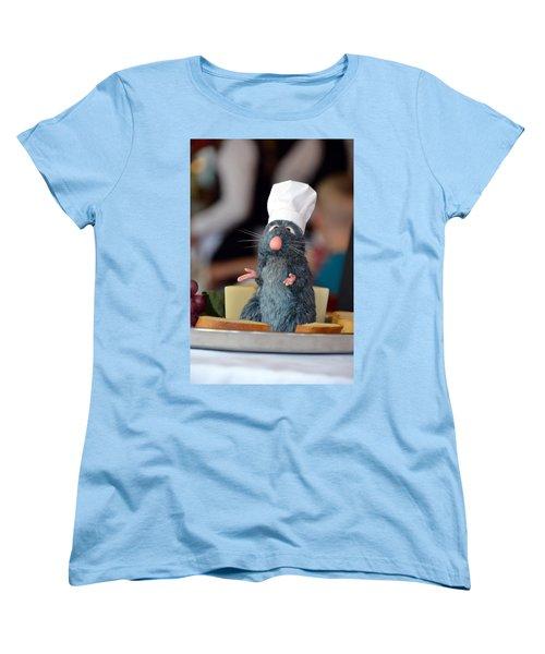 The Only Rat I Like Women's T-Shirt (Standard Cut) by Bonnie Myszka