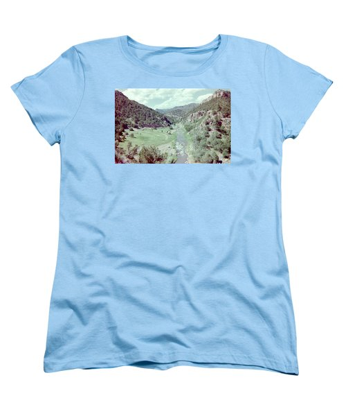 Women's T-Shirt (Standard Cut) featuring the photograph The River by Bonfire Photography