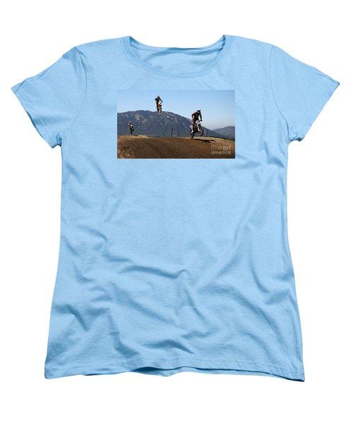 Three In The Air Women's T-Shirt (Standard Cut) by Vivian Christopher