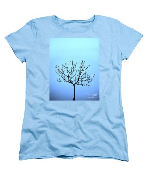 Tree With The Blues Women's T-Shirt (Standard Cut)