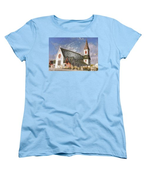 Women's T-Shirt (Standard Cut) featuring the photograph Trinity  by Lydia Holly
