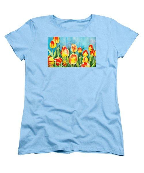 Tulips Women's T-Shirt (Standard Cut)