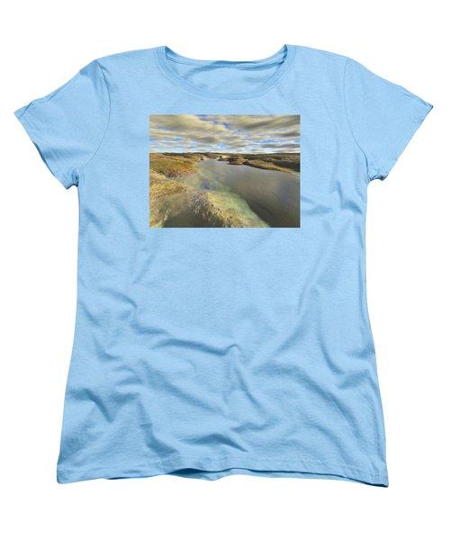 Valley Stream Women's T-Shirt (Standard Cut) by Mark Greenberg