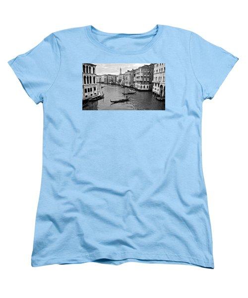 Women's T-Shirt (Standard Cut) featuring the photograph Venezia by Eric Tressler