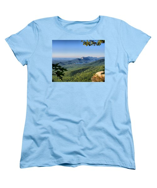 Women's T-Shirt (Standard Cut) featuring the photograph View From Caesar's Head by Lynne Jenkins