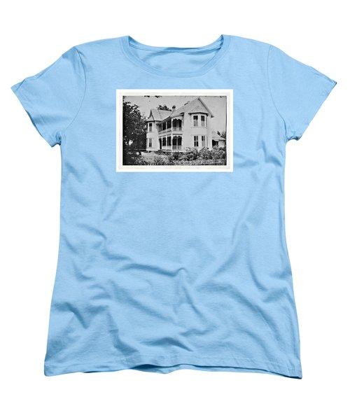 Vintage Victorian House Women's T-Shirt (Standard Cut) by Susan Leggett