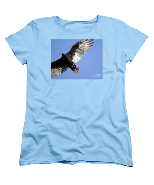 Women's T-Shirt (Standard Cut) featuring the photograph Vulture by Jeannette Hunt