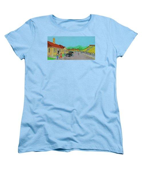 Wayne Hills 1948 Women's T-Shirt (Standard Cut) by Frank Hunter
