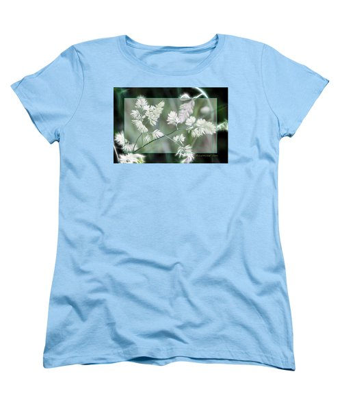 Women's T-Shirt (Standard Cut) featuring the photograph Weeds by EricaMaxine  Price