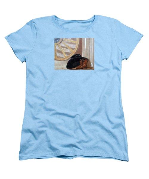 Western Art Work For Luke Women's T-Shirt (Standard Cut) by Margaret Harmon