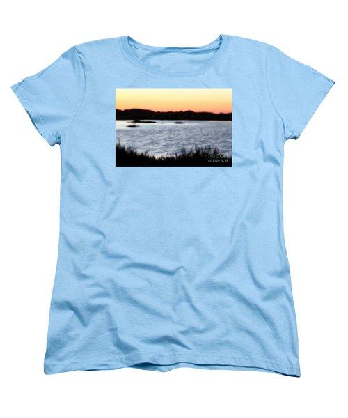 Women's T-Shirt (Standard Cut) featuring the photograph Wetland by Henrik Lehnerer