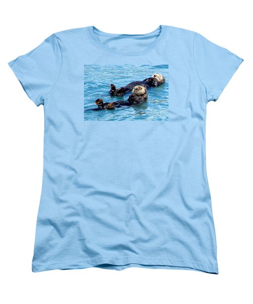 Women's T-Shirt (Standard Cut) featuring the photograph Whatchu Looking At by Kathy  White