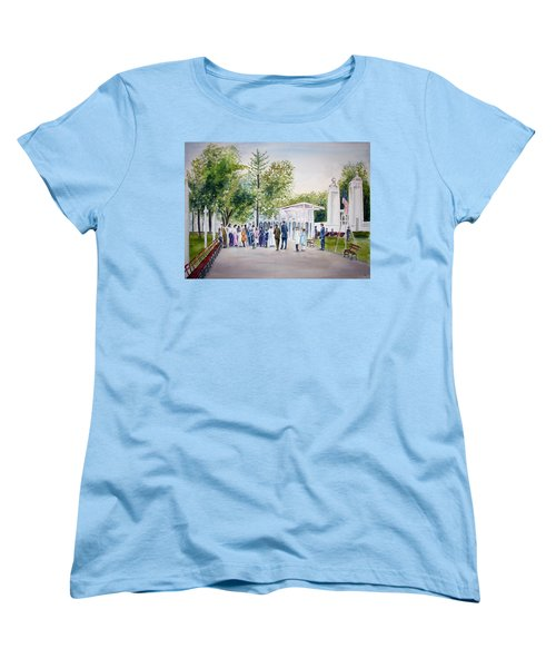 White City Women's T-Shirt (Standard Cut) by Clara Sue Beym