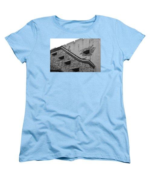 Windowed Wall Women's T-Shirt (Standard Cut) by Bonnie Myszka
