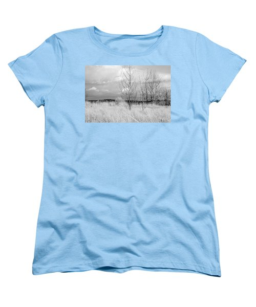 Winter Bare Women's T-Shirt (Standard Cut) by Kathleen Grace